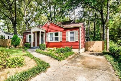 Decatur Single Family Home New: 1386 Catherine St