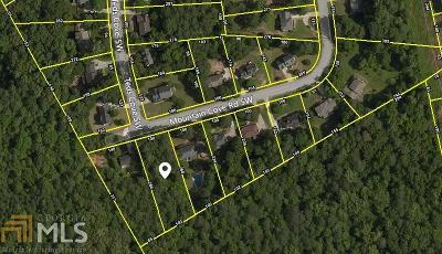 Snellville Residential Lots & Land For Sale: 3840 Mountain Cove Rd