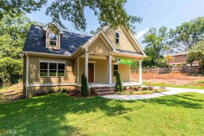 College Park Single Family Home New: 3279 Connally St
