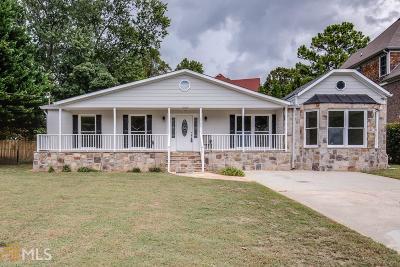 Chamblee Single Family Home New: 2208 Plantation