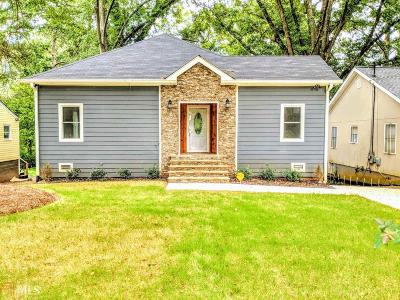 Atlanta Single Family Home For Sale: 440 Ashburton Ave