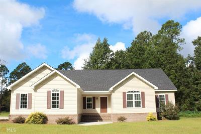 Statesboro Single Family Home New: 2800 Rusty Rd