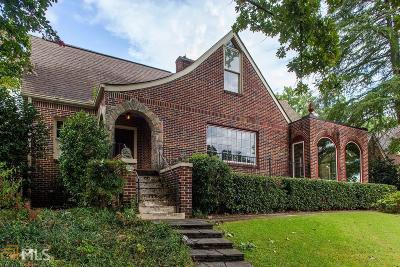 Morningside Single Family Home New: 1751 N Pelham Rd
