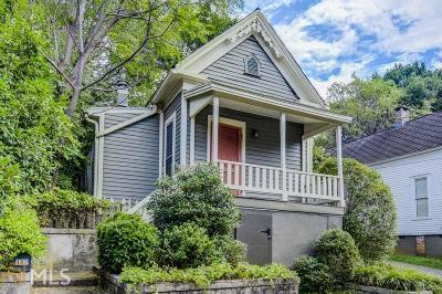 Cabbagetown Single Family Home Back On Market: 142 Savannah St
