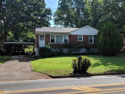Clayton County Single Family Home Under Contract: 5540 Ash St