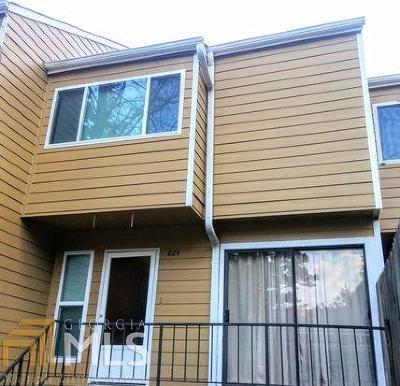 Lawrenceville Condo/Townhouse Under Contract: 224 Yuba Walk