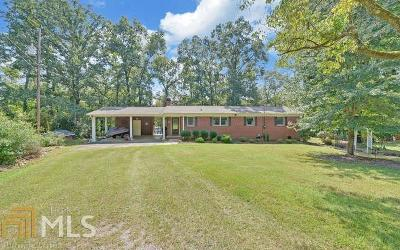 Hartwell Single Family Home For Sale: 66 Joy Ln