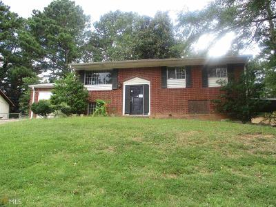 Clayton County Single Family Home New: 1387 Willow Dr