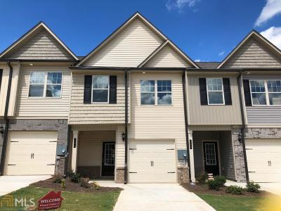 Winder Condo/Townhouse For Sale: 364 Turtle Creek Dr