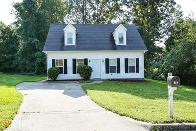 Winder Single Family Home New: 275 Griffith St