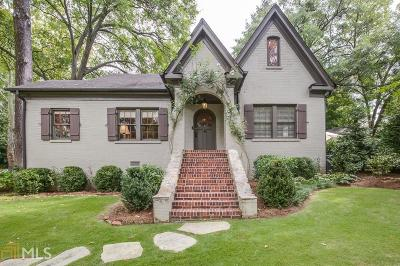 Peachtree Hills Single Family Home Under Contract: 2030 Fairhaven Cir