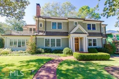 Ansley Park Single Family Home For Sale: 34 Park Ln