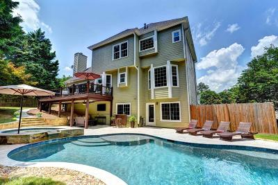 Roswell Single Family Home Under Contract: 225 Arbor Creek Way