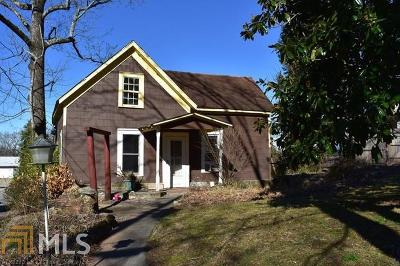 Habersham County Single Family Home For Sale: 301 Pine Ave