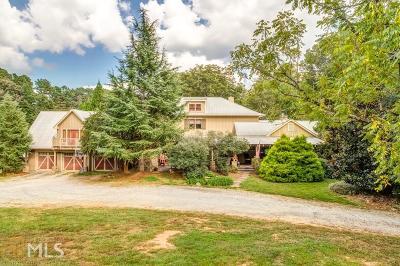 Cherokee County Single Family Home Under Contract: 2475 Jep Wheeler Rd