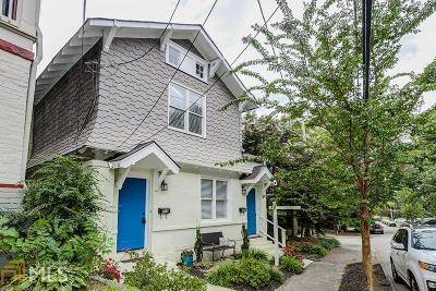 Atlanta Multi Family Home Under Contract: 411 Pine