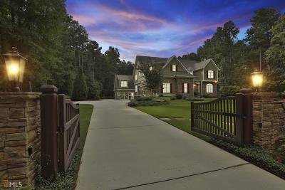 Fayetteville GA Single Family Home New: $1,200,000