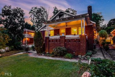 Grant Park Single Family Home Under Contract: 696 Berne St