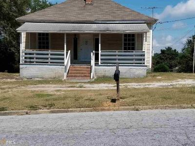 Conyers Single Family Home New: 1730 Spring St