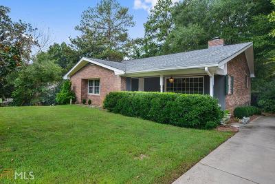 Historic Marietta Single Family Home Under Contract: 210 Kirkpatrick Dr