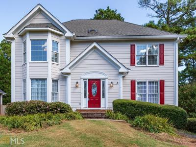 Johns Creek Single Family Home Under Contract: 11195 Surrey Park Trl