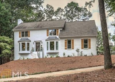 Roswell Single Family Home New: 475 Hembree Holw