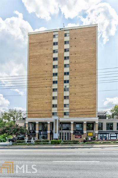 Peachtree Battle Condo/Townhouse Under Contract: 2285 Peachtree Rd #509