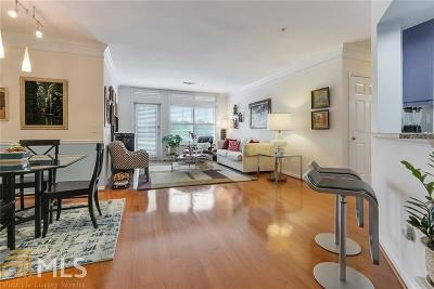 Meridian Buckhead Condo/Townhouse For Sale: 3334 Peachtree Rd #409