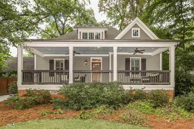 Decatur Single Family Home New: 1210 Oakview Rd