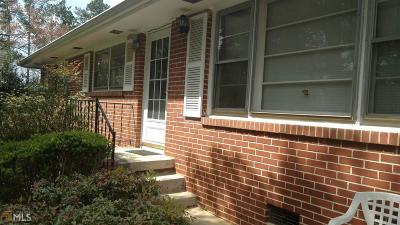 Jonesboro Single Family Home New: 1559 Stockbridge Rd