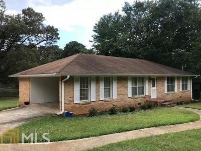 Griffin Single Family Home Under Contract: 1716 W Poplar St