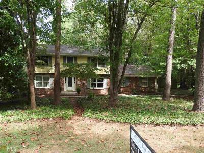 Stone Mountain Single Family Home New: 308 Hightower Trl