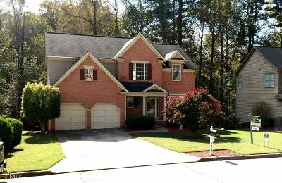 Suwanee Single Family Home For Sale: 2160 Pendleton Pl #21