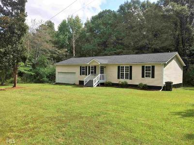Bowdon Single Family Home Under Contract: 210 Bill Beasley Rd