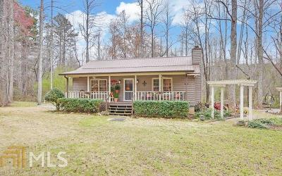 Clarkesville Single Family Home New: 302 Old Stagecoach Rd