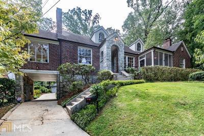 Virginia Highland Single Family Home Under Contract: 831 Crestridge Dr