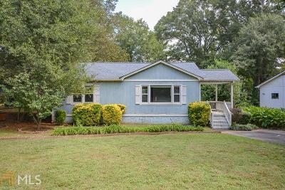 Marietta Single Family Home Under Contract: 108 E Acres Dr