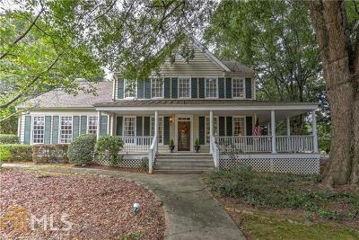 Alpharetta Single Family Home Under Contract: 5205 Hunters Oaks Dr