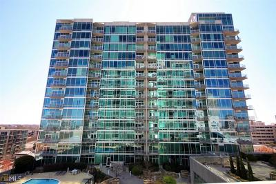 Metropolis Condo/Townhouse Under Contract: 943 Peachtree St #1117