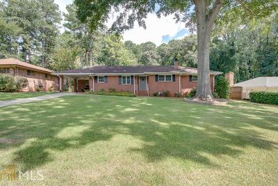 College Park Single Family Home For Sale: 3266 Lyle Ter