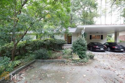 Atlanta Single Family Home New: 1030 Crane Rd