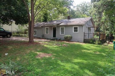 Clayton County Single Family Home New: 4663 Burks Rd
