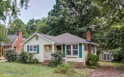 Ormewood Park Single Family Home Under Contract: 954 Alloway Pl