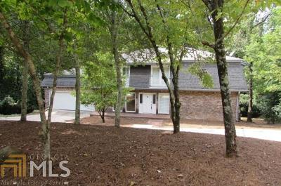 Roswell Single Family Home Under Contract: 9390 N Lake Dr