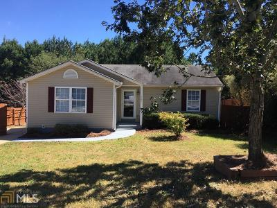 Winder Single Family Home Under Contract: 321 Dreamland Ct