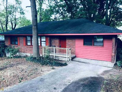 Clayton County Single Family Home Under Contract: 4737 Ruby Ln