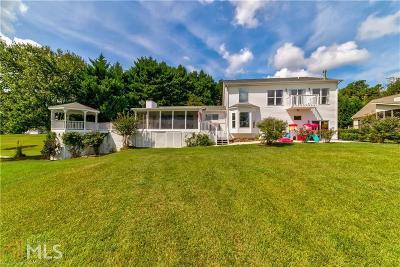 Dawsonville Single Family Home For Sale: 68 Lake Terrace Dr
