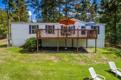 Milledgeville, Sparta, Eatonton Single Family Home For Sale: 197 Tomahawk Dr