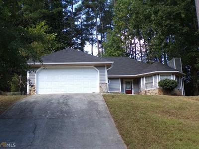 Conyers GA Single Family Home Under Contract: $123,000