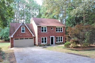 Peachtree City Single Family Home Under Contract: 121 Terrace Tay